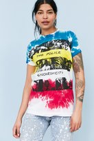 Urban Outfitters The Police Synchronicity Tie-Dye Tee