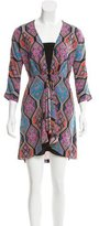 Mara Hoffman Printed V-Neck Dress
