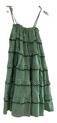 Innika Choo Green Cotton Dresses