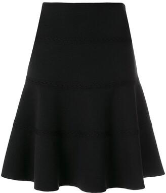 Alaïa Pre-Owned Skate Lace Detail Skirt
