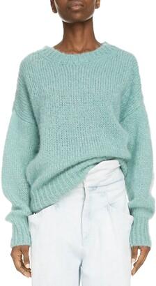 Isabel Marant Oversize Mohair & Wool Blend Sweater