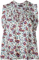 Isabel Marant 'River' sleeveless blouse - women - Silk - 36