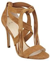Marc Fisher Lauren Leather Tassel Dress Sandals