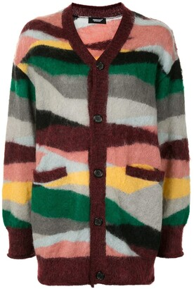 Undercover Abstract-Pattern Cardigan
