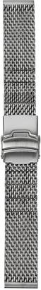 Hadley Roma MB3856RWSE 20 White Metal Watch Band