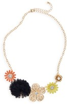 Capelli of New York Girl's Flower Necklace