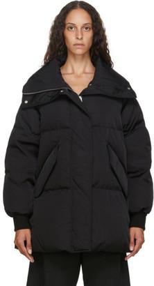 MM6 MAISON MARGIELA Black Down Oversize Jacket