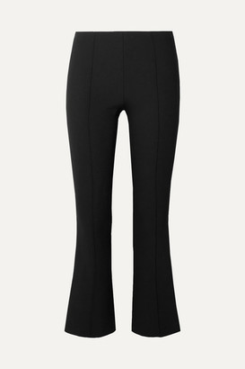 The Row Beca Cady Flared Pants - Black