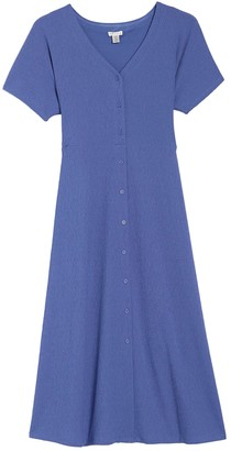 Spense Button Down Waist Tie Dress