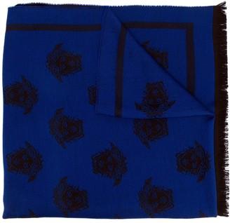Versace Medusa intarsia scarf