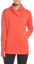 Zella Women's Frosty Asymmetrical Zip Pullover