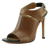 Carven Sandales Women Open-toe Leather Brown Heels.