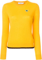 Coach crew neck sweater - women - Cashmere - XS