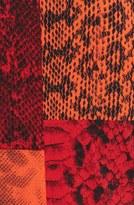 MICHAEL Michael Kors Chain Trim Cowl Neck Print Top