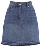"Oasis Raw hem mini skirt [span class=""variation_color_heading""]- Denim[/span]"
