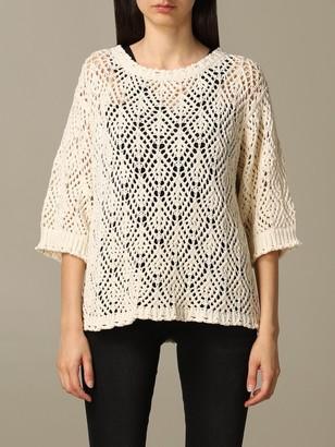 Twin-Set Micro-perforated Sweater