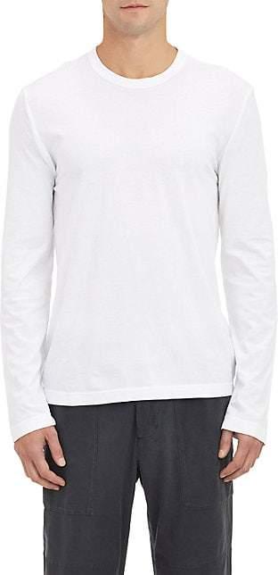 James Perse Men's Jersey Long Sleeve T-shirt - White