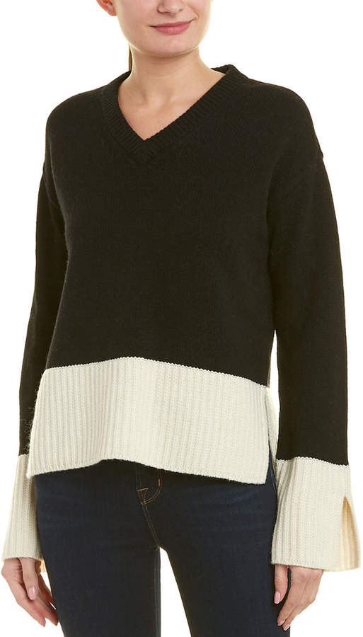10 Crosby V-Neck Wool-Blend Sweater