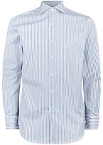 Aquascutum Alwin Stripe Shirt, Green