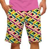 Men's Loudmouth Block Party Golf Shorts