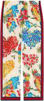 Gucci corsage print silk pajama pant - women - Silk - 38
