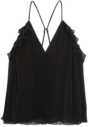 Alice McCall Lady Be Good Ruffled Plisse-chiffon Camisole