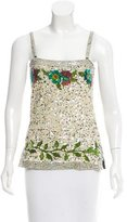 Jean Paul Gaultier Sleeveless Sequin Top w/ Tags
