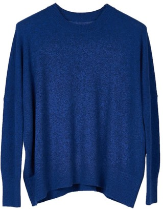 Oyuna Mara Knitted Wool Blend Pullover In Star Blue Mix