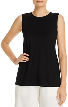 Eileen Fisher Petites Eileen Fisher Petite System Crewneck Long Tank