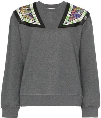 Stella McCartney Shoulder Applique Sweatshirt