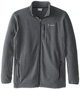 Columbia Men's Big & Tall Cascades Explorer Full Zip Midweight Fleece Jacket