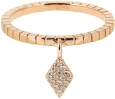 Diane Kordas Diamond & rose-gold Kite ring