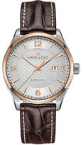 Hamilton Jazzmaster Viewmatic Sapphire Leather band Watch