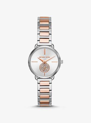 Michael Kors Petite Portia Two-Tone Watch - Two Tone