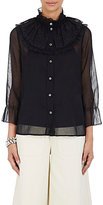 Marc Jacobs Women's Ruffle-Detailed Blouse-BLACK