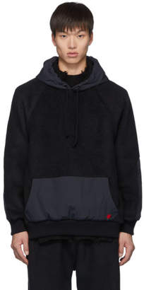 Undercover Black Fleece Rose Hoodie
