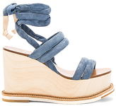 Flamingos Lily Wedge in Blue. - size 39 (also in )