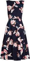Erdem Maia Kayo Lily-print sleeveless canvas dress