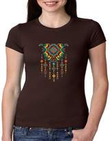 Juiceclouds Native American JUNIORS Fitted Shirt Aztec Jewelry S-2XL (, S)