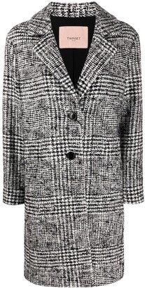 Twin-Set Woven Single Breasted Coat