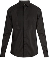 Lanvin Double-cuff bib-front dinner shirt
