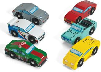 Le Toy Van Monte Carlo 6-Pack Wooden Sports Cars Set