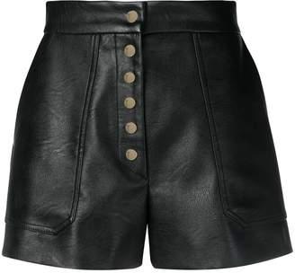 Stella McCartney high-rise buttoned shorts