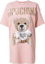 Moschino teddy T-shirt - women - Cotton/other fibers - 40