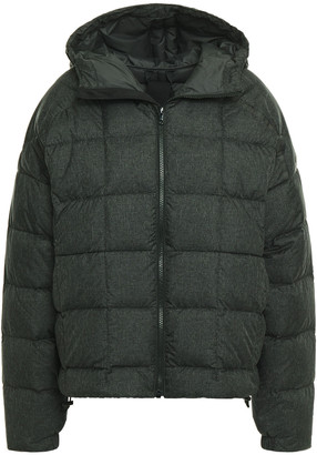 adidas Quilted Shell Hooded Down Jacket
