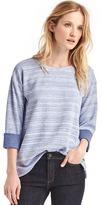 Gap Softspun double-face sweatshirt