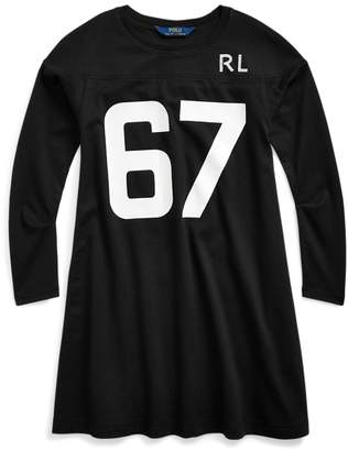 Ralph Lauren Cotton Jersey Graphic Dress