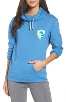 Junk Food Clothing Women's Nfl Los Angeles Chargers Sunday Hoodie