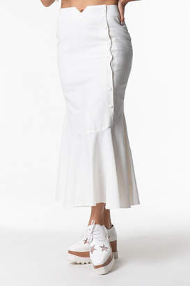 Cattiva Girl Button-Up Maxi Skirt