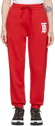 Burberry Red Gresham Lounge Pants